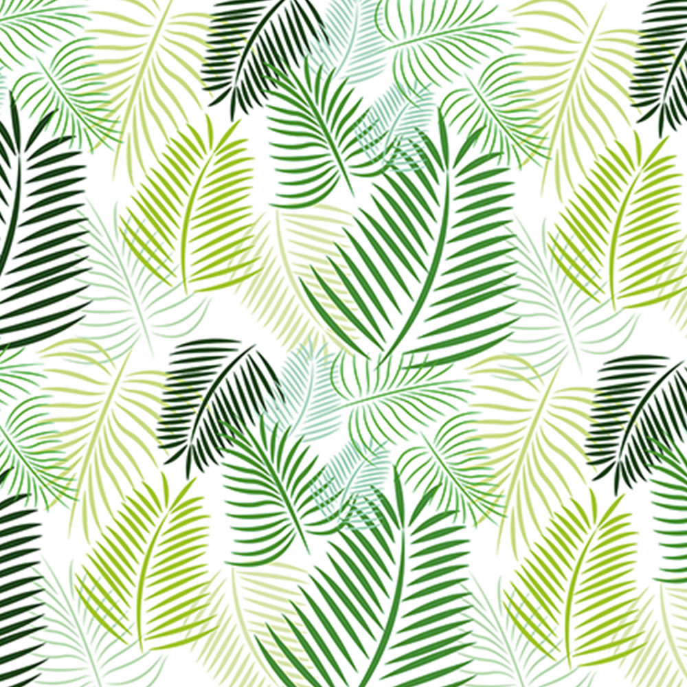 Lufo store carta da parati foglie verde 0 50 x 10 mt for Carta da parete